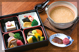 奈良 ゆうすいの茶がゆセット