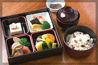 奈良 ゆうすいの茶飯セット