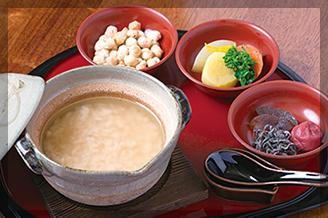 奈良 ゆうすいの茶がゆ